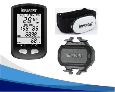 Ciclocomputador Igpsort Igs10S Combo + Banda Pecho  + Cadencia  Gps Bidou Acepta Cardiaca Velocidad