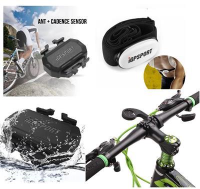 Ciclo Kit Ciclismo Banda Cardiaca + Cadencia + Soporte Frontal 13583+23007+23008