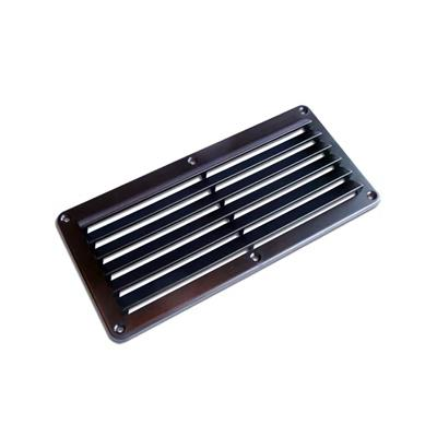 Rejilla ABS 260x125 mm Negra