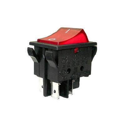 Interruptor Basculante 35x18 mm 15 Amp Luz Rect