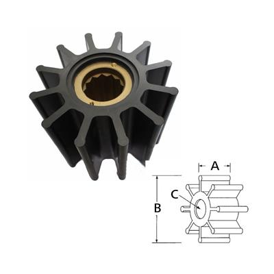 Rotor 17935-0001 Itt Volvo 807904 8