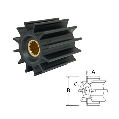 Rotor 17936-0001 Itt Volvo 842857 844
