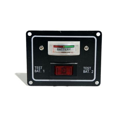 Tablero Para Testeo De 2 Baterías Voltímetro