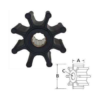 Rotor 17018-0001 Itt/Cat Mercruiser Diesel 220-300Hp