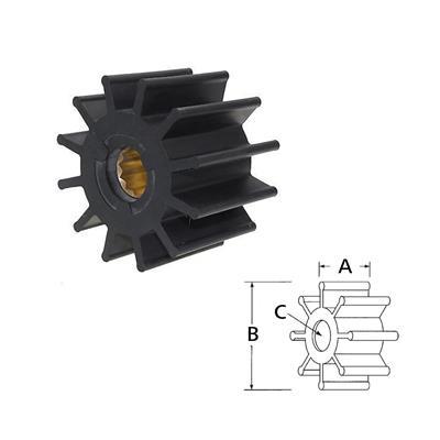 Rotor 17370-0001 Itt/Cat