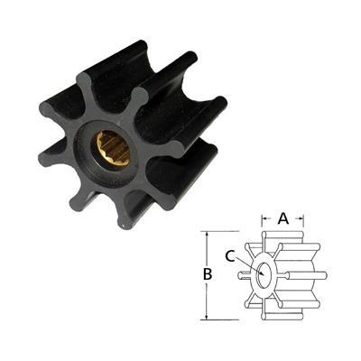 Rotor 14281-0001 Itt Neopreno